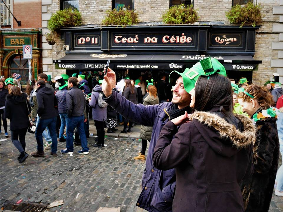 Ambiente de Dublín en San Patricio