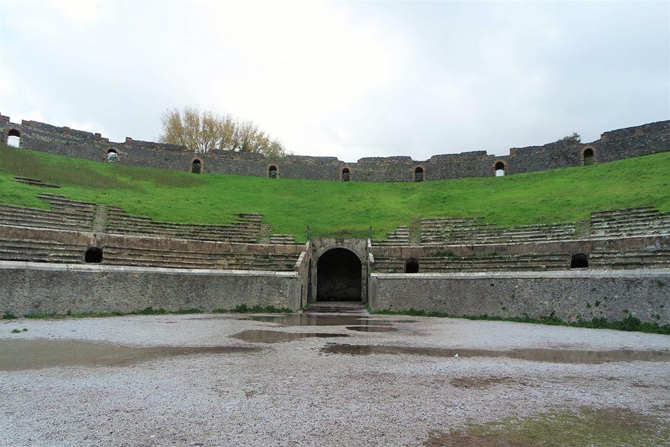 Anfiteatro, Pompeya