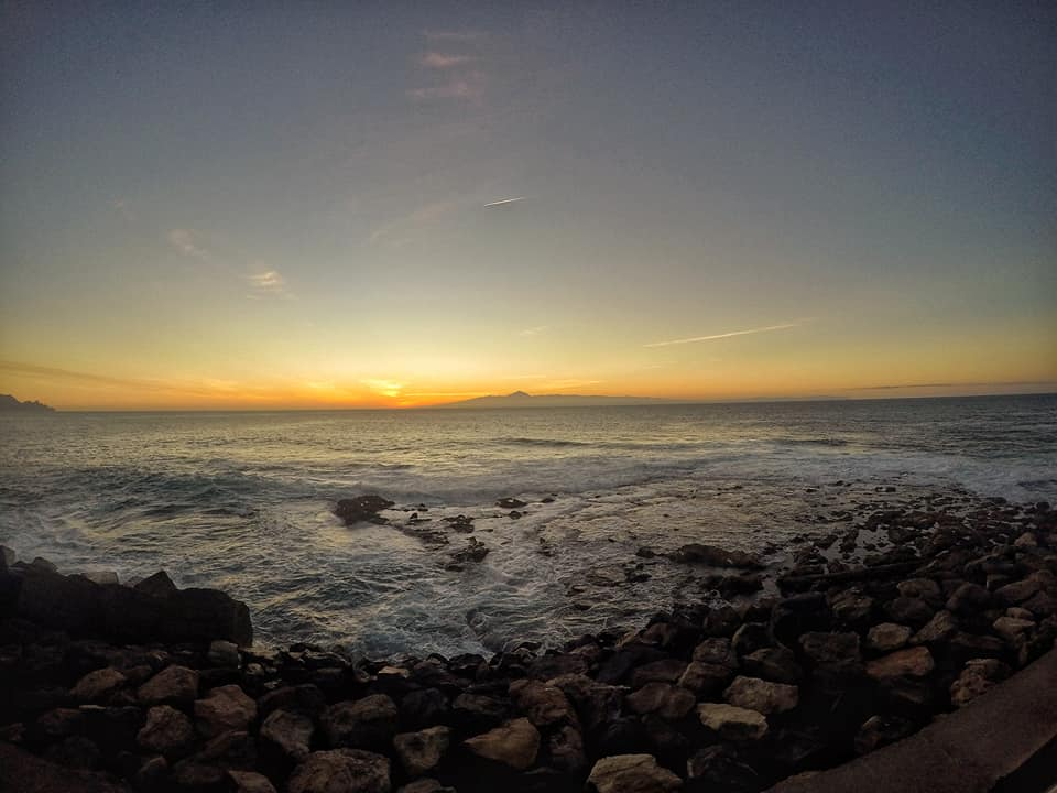 Atardecer desde Agaete, Gran Canaria