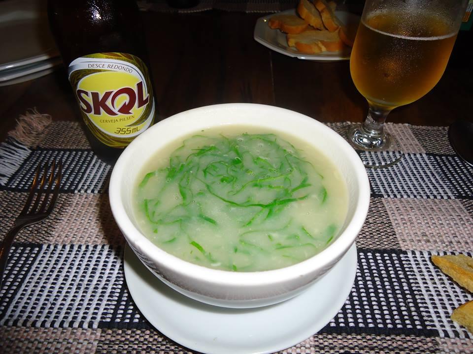 Caldo verde, gastronomía de Brasil