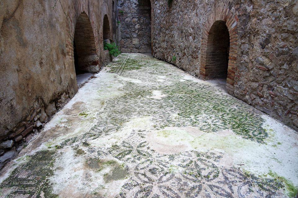 Mosaicos romanos, teatro de Taormina