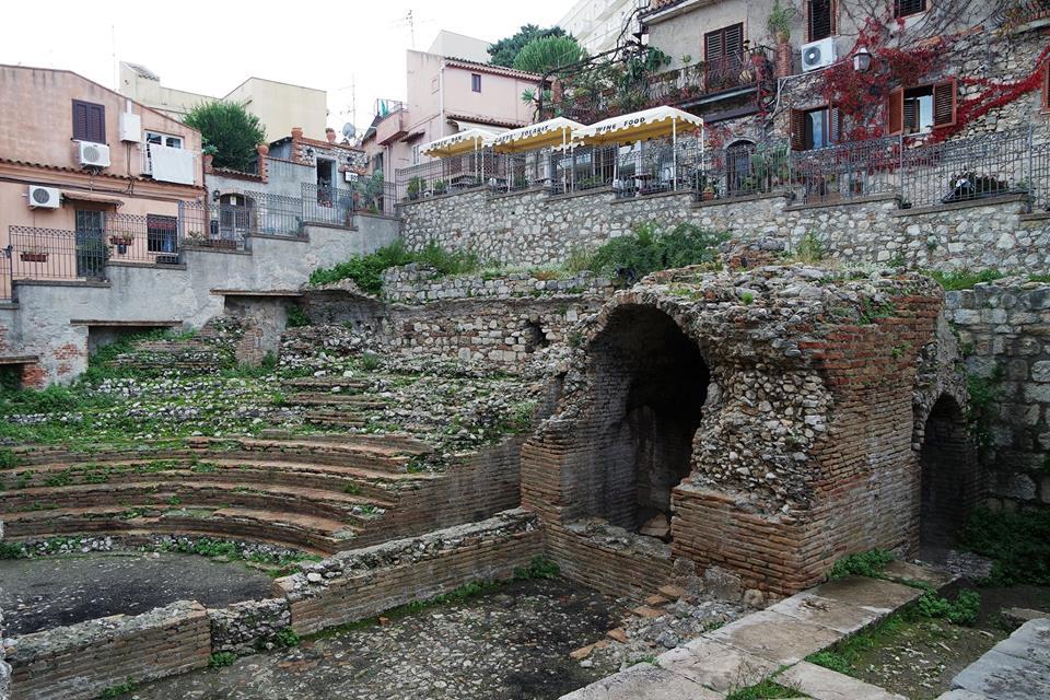 Pequeño teatro romano de Taormina
