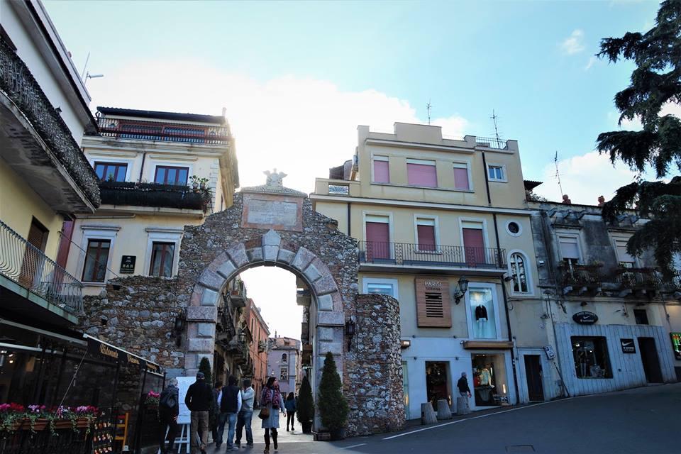 Puerta de Messina, qué ver en Taormina