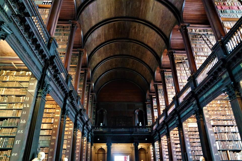 Biblioteca del Trinity College, Dublín