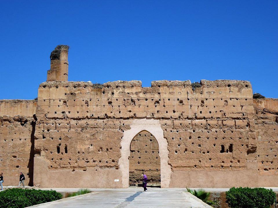 Entrada al Palacio El Badi