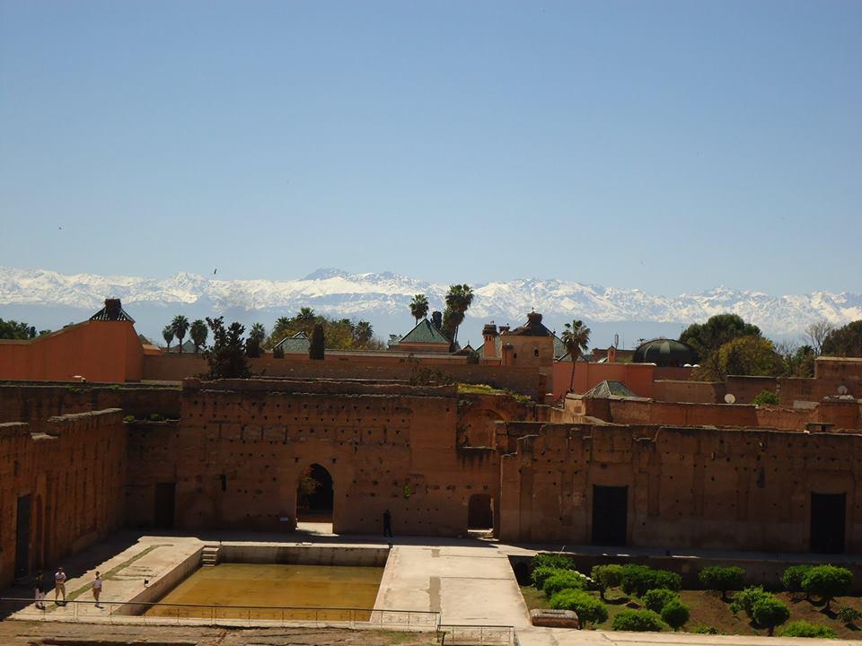 Palacio Badi y El Atlas