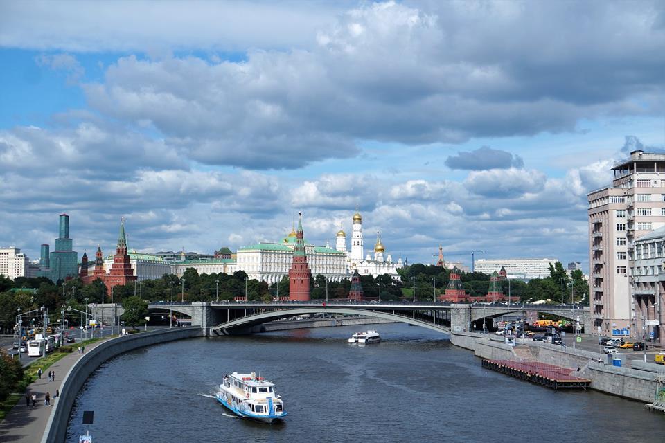 Río Moscova, qué hacer en Moscú en 2 días