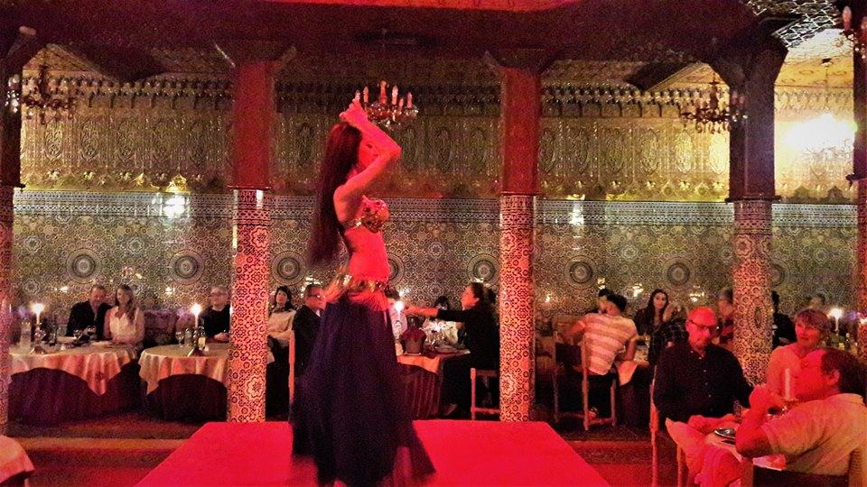Restaurante Dar Essalam en Marrakech