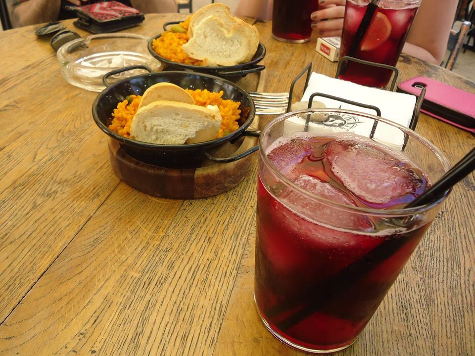 Vargas con arroz de tapa, bares de Córdoba