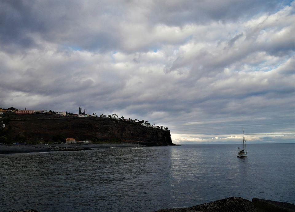 Atardecer en Playa de Santiago, La Gomera