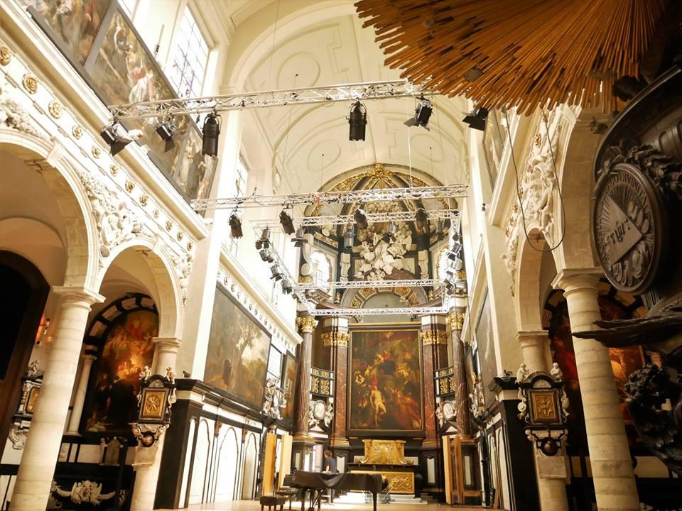 Iglesia monástica de los padres agustinos