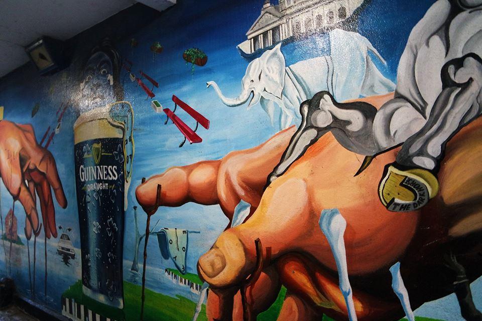 Mural de Guinness, Belfast