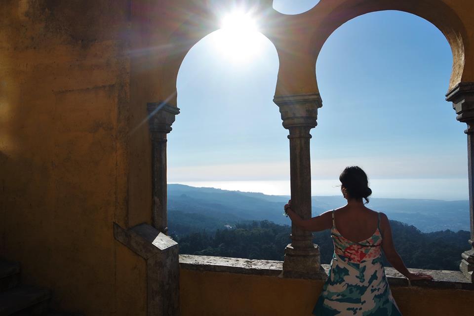 Sol poniente en el Palacio de Pena, qué ver en Sintra