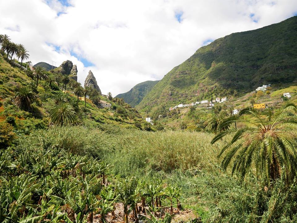 Valle de Hermigua, La Gomera