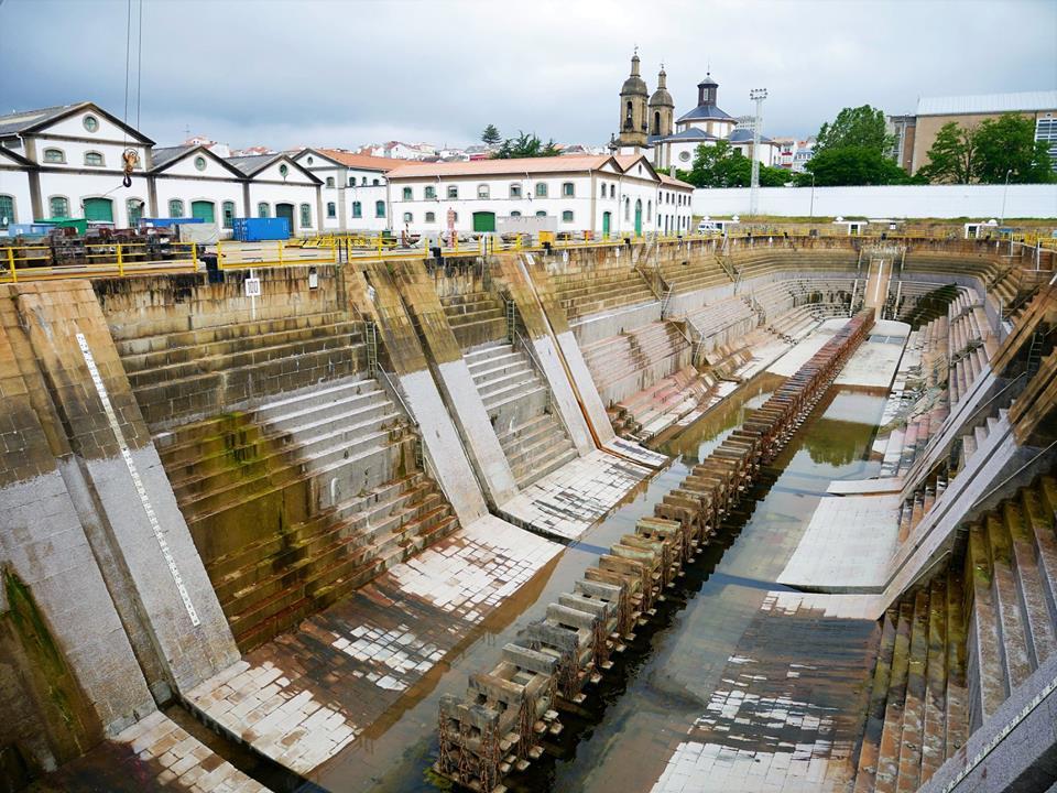 Dique de la Campana, Arsenal militar de Ferrol