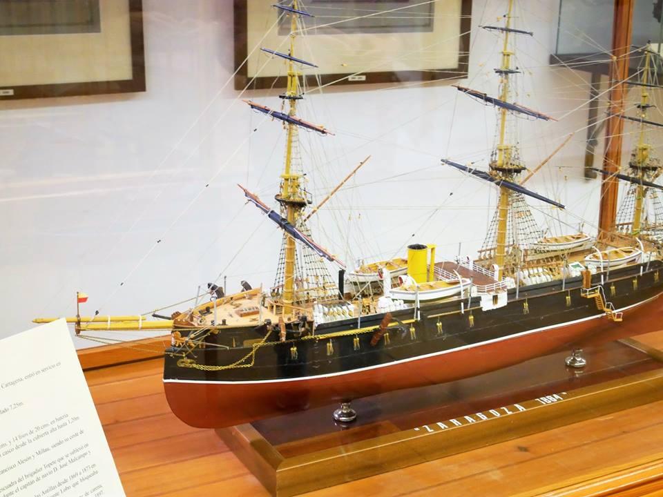 Fragata, Museo Naval