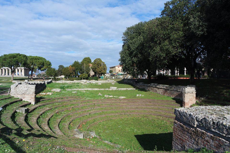 Anfiteatro de Paestum