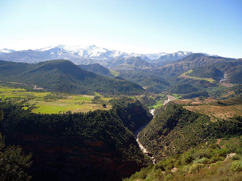 El Atlas, sur de Marruecos