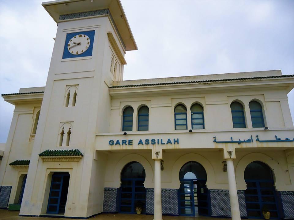Estación de tren en Assilah