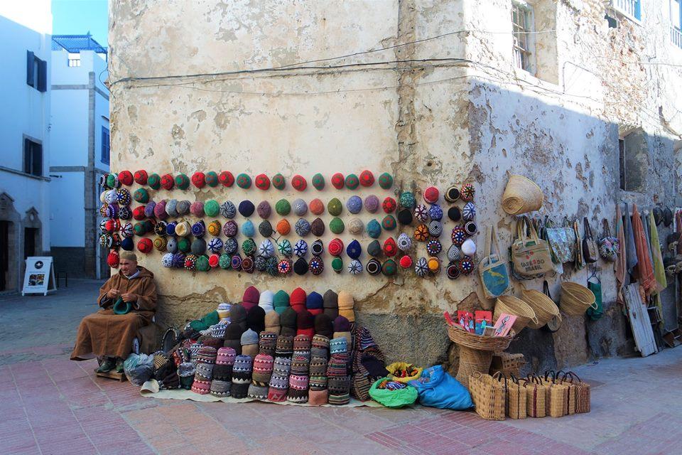 Tiendas de Essaouira