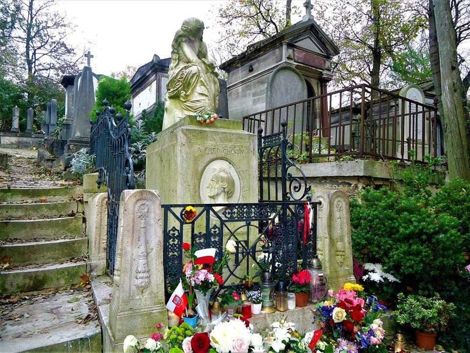 Tumba de Chopin, Père Lachaise, París