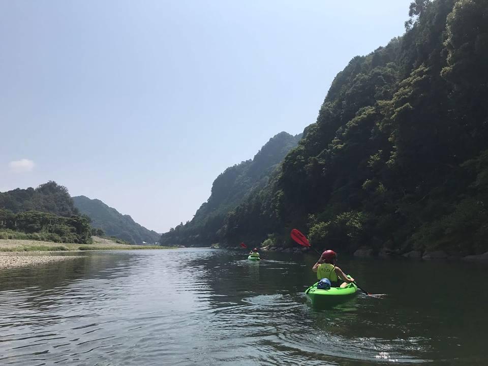 Kayak en Wakayama