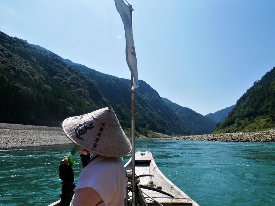 Paseo en río por Kumano gawa