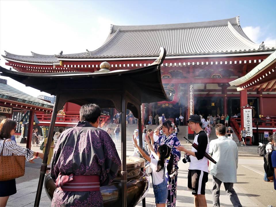 Caldero de incienso de Senso-ji