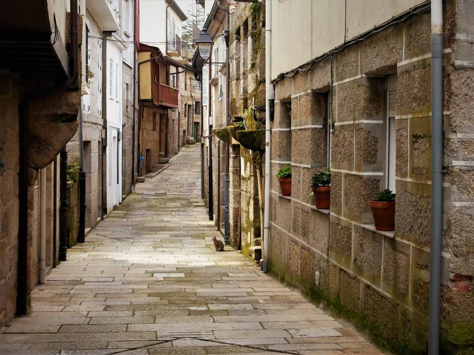 Calles de Ribadavia, Ourense