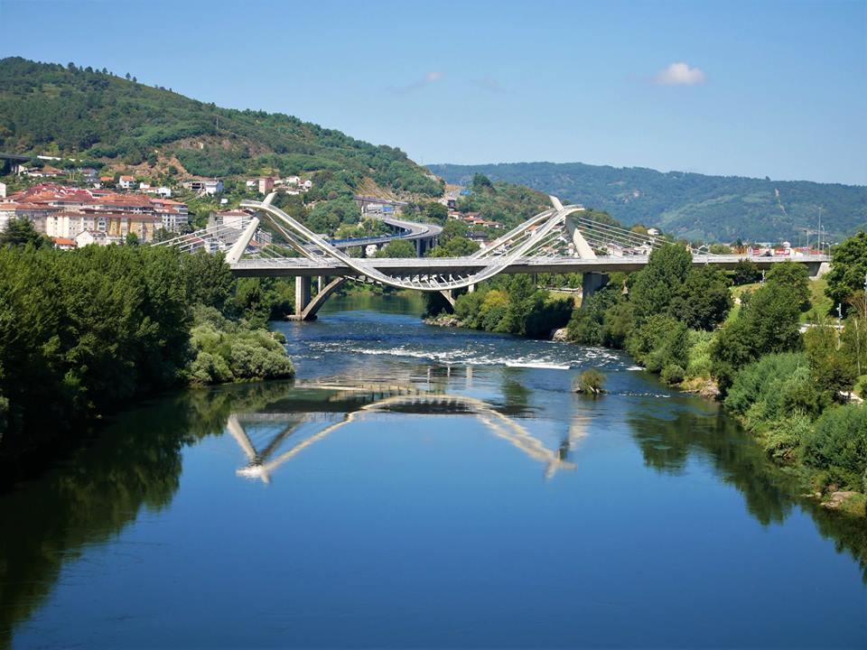 Puente del Milenio en Ourense