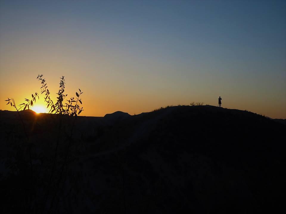 Atardecer en La Capadocia