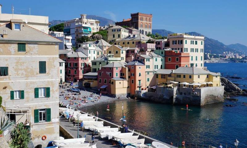 Bocaddasse, qué ver en Génova