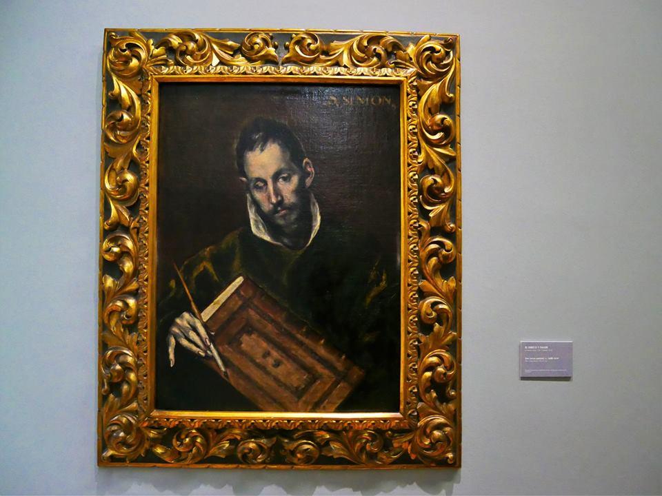 Cuadro de El Greco, Museo de Bellas Artes de Asturias