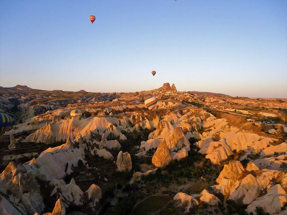 Vistas de la Capadocia en globo