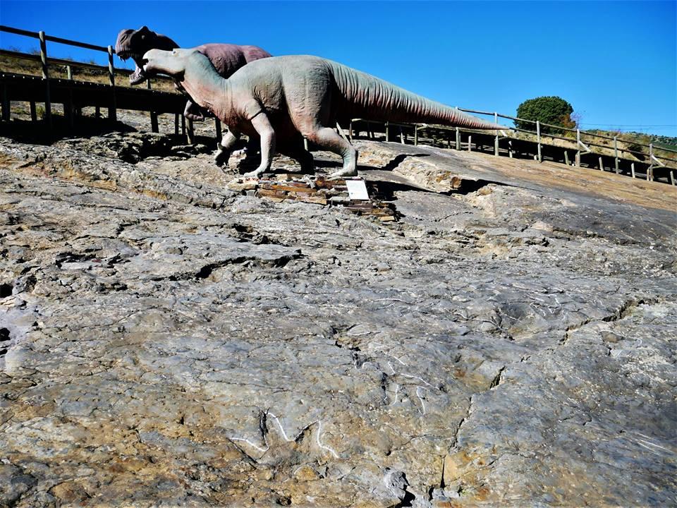 Huellas de dinosaurios en La Rioja