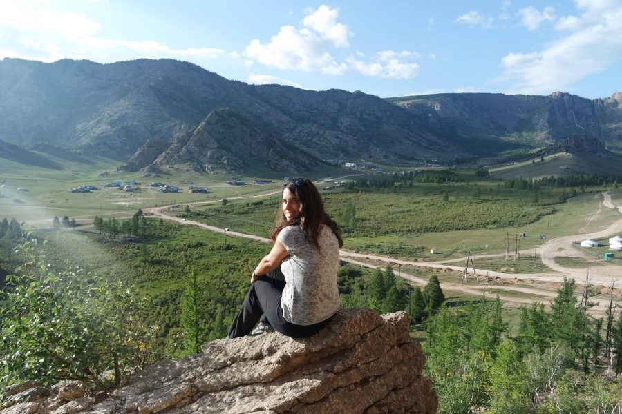 Paisaje de Mongolia