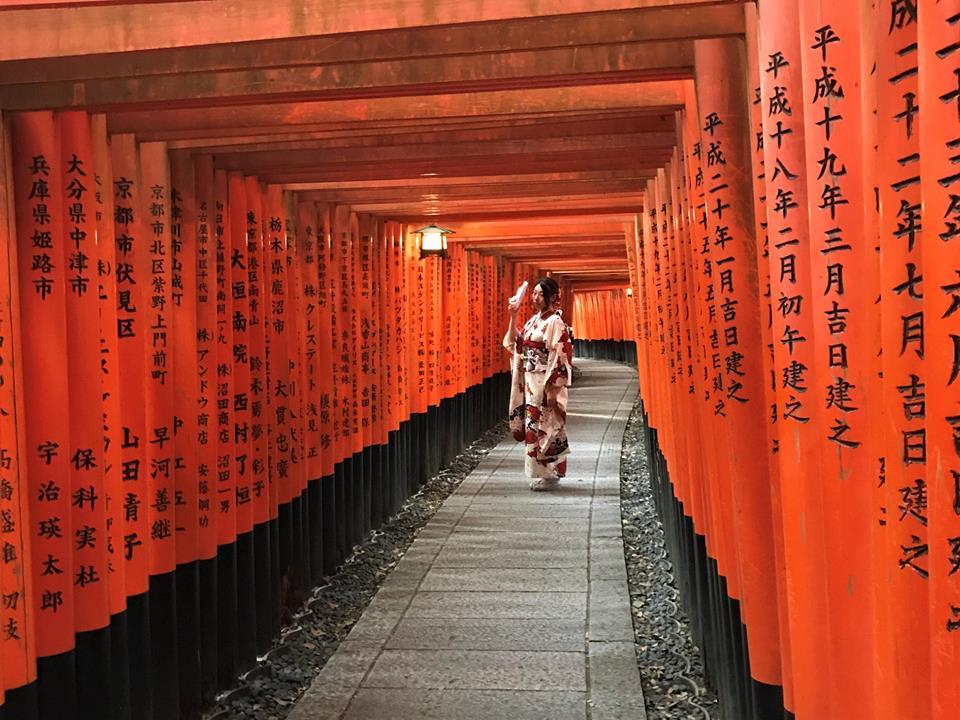 Kioto, templo de Memorias de una geisha