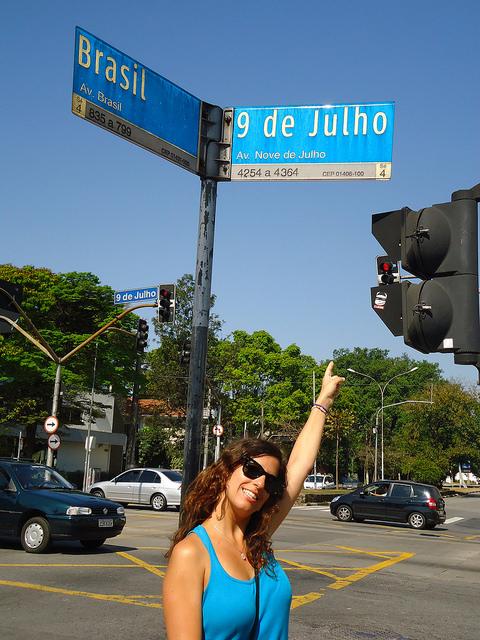 Avenida 9 de julio, Sao Paulo