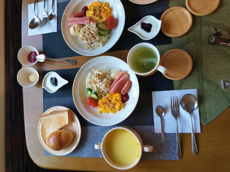 Desayuno continental en Japón