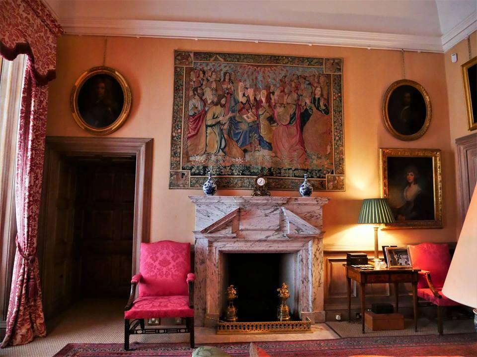 Interior del castillo de Floors