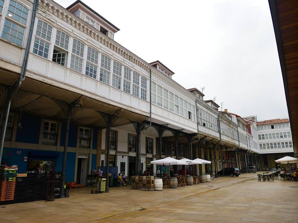 Plaza del Mercado, Avilés