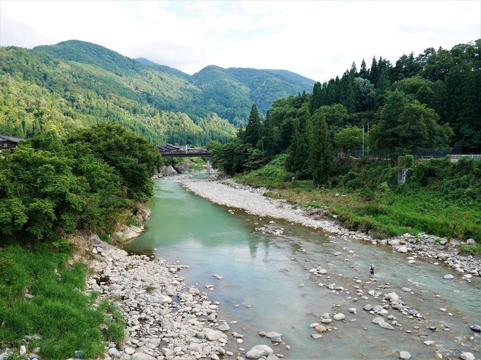 Río de Shirakawa-Go