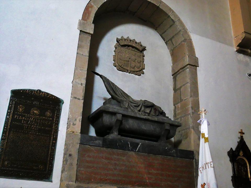 Sepulcro de Pedro Menéndez