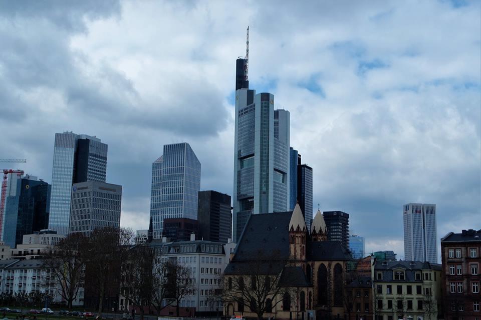 Skylinne de Frankfurt
