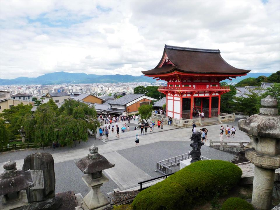 Vistas de Kioto desde Kiyomizudera