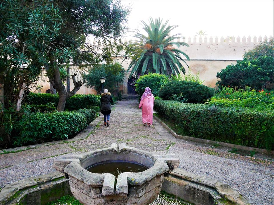 Jardines andalusíes de Rabat
