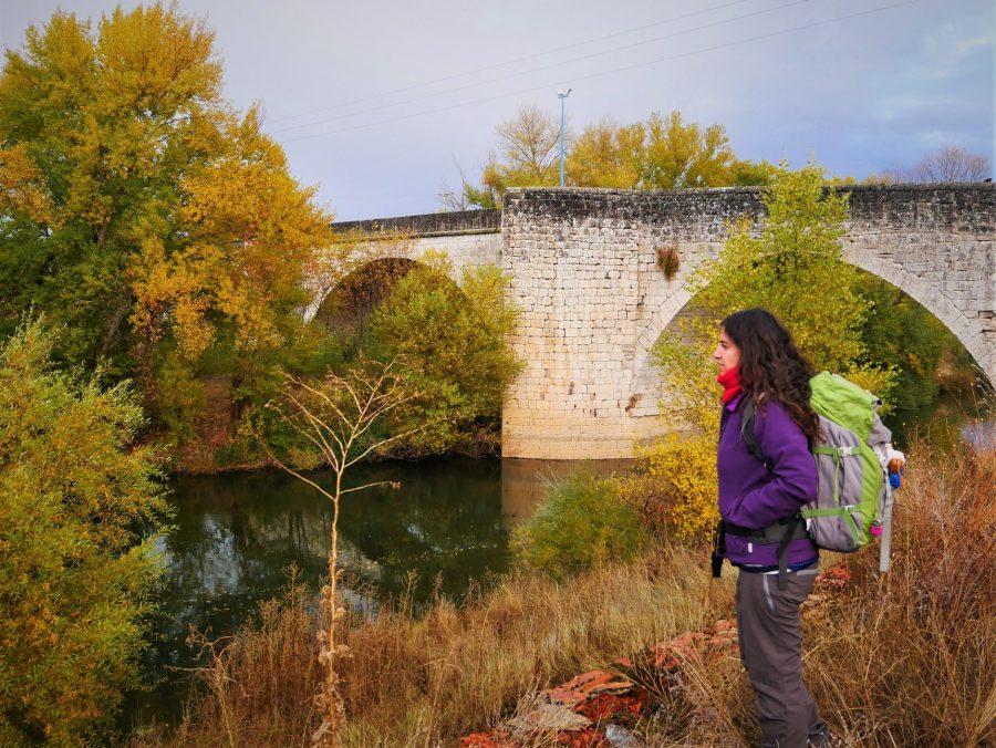 Puente Duero, Camino de Madrid