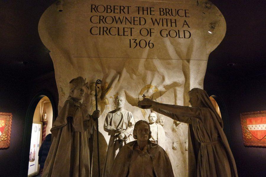 Robert the Bruce, castillo de Edimburgo