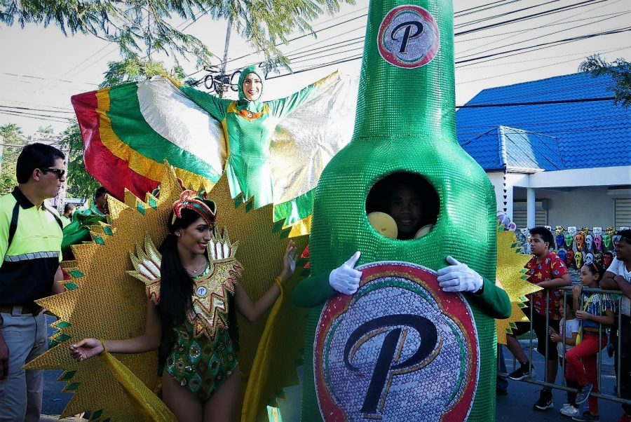 Cerveza presidente, carnaval vegano