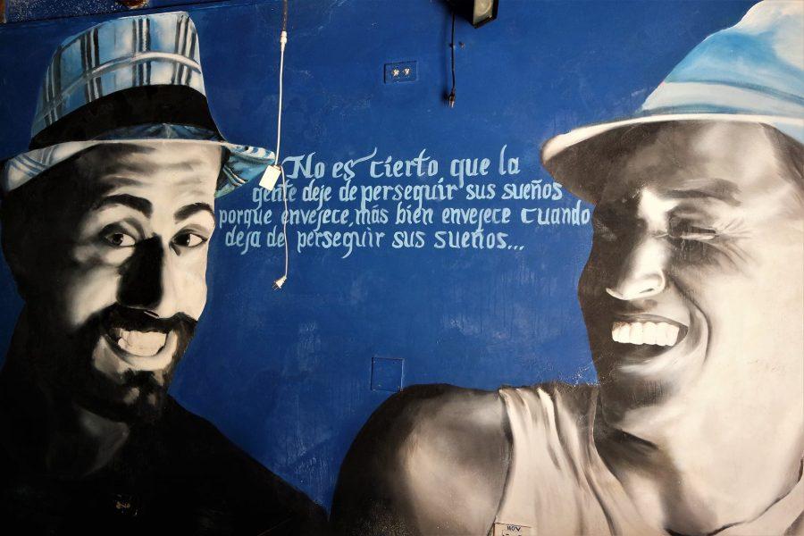 Cumple tus sueños, murales de Colombia